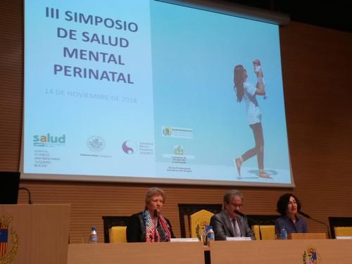 El III Simposio de Salud Mental Perinatal, co-organizado por MARES llena el Colegio de Médicos de Zaragoza