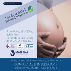 Evento del Día Mundial de la Salud Mental Materna