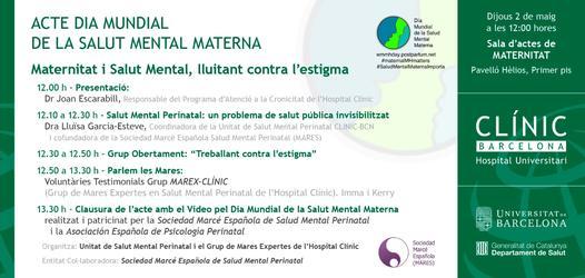 Acto Día Mundial de la Salud Materna: