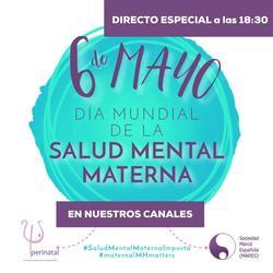 Un año más, la MARES conmemora el Día Mundial de la Salud Mental Materna