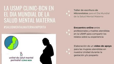 Las iniciativas de la Unidad de Salud Mental Prinatal del Hospital Clinic de Barcelona