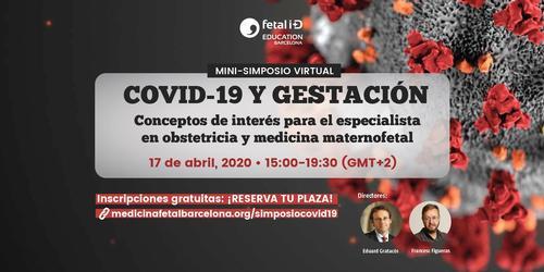 Mini-simposio virtual: COVID-19 y gestación