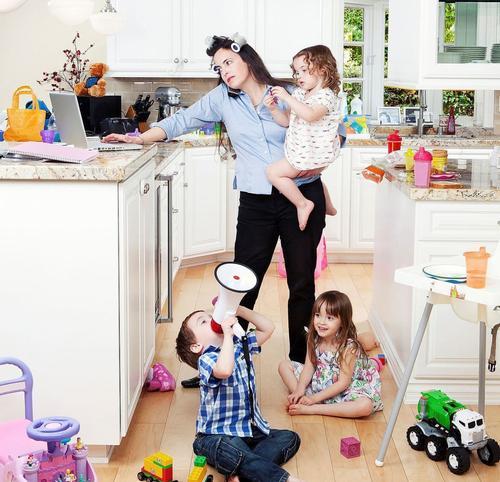 Madres multitarea durante la pandemia