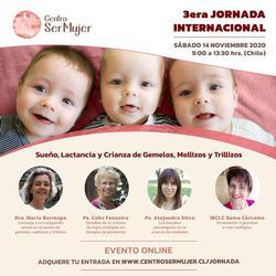 3ª Jornada de Psicología y Crianza de Múltiples: Sueño, Lactancia y Crianza en Pandemia