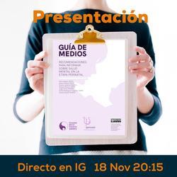 Presentación de la Guía de Medios en Salud Mental Perinatal