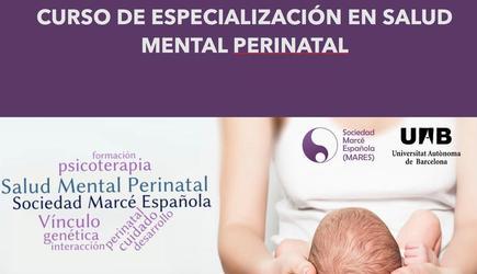 Curso de Especialización en Salud Mental Perinatal (UAB-MARES) 3ª Edición