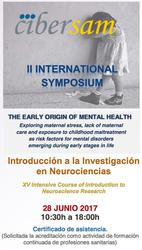 II International Symposium: The early origin of mental health