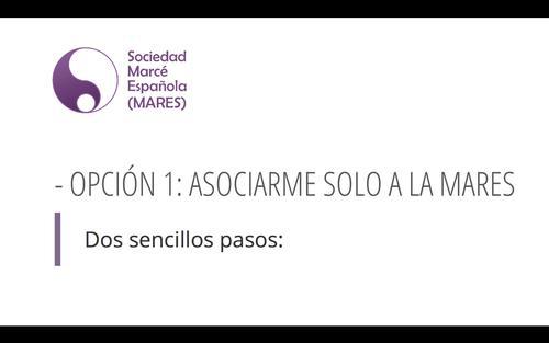 Novedades en el sistema de asociación a MARES !!