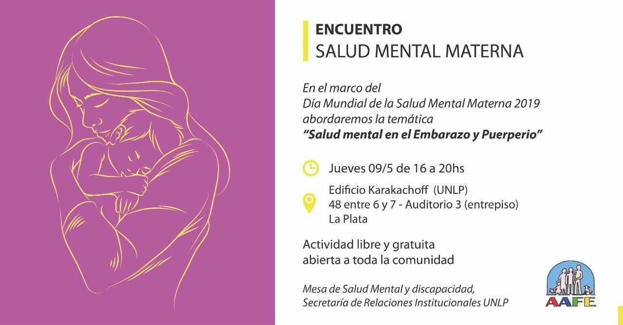 Encuentro Salud Mental MAterna (Argentina)