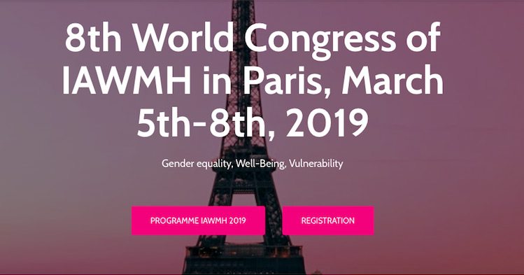 8th World Congress on Women´s Mental Health (IAWMH 2019)