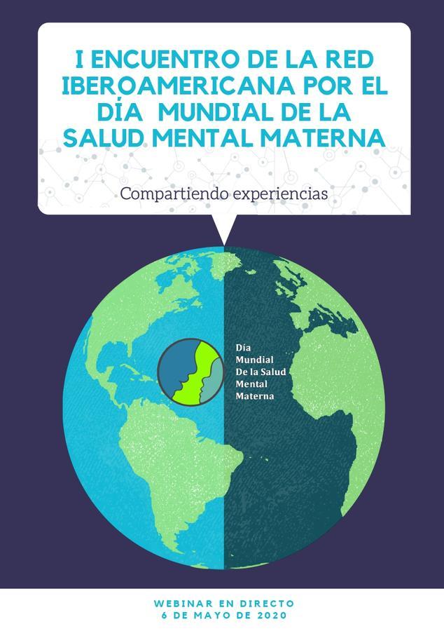 El I Encuentro de la Red Iberoamericana por el Día Mundial de la Salud Mental Materna se podrá seguir por YouTube