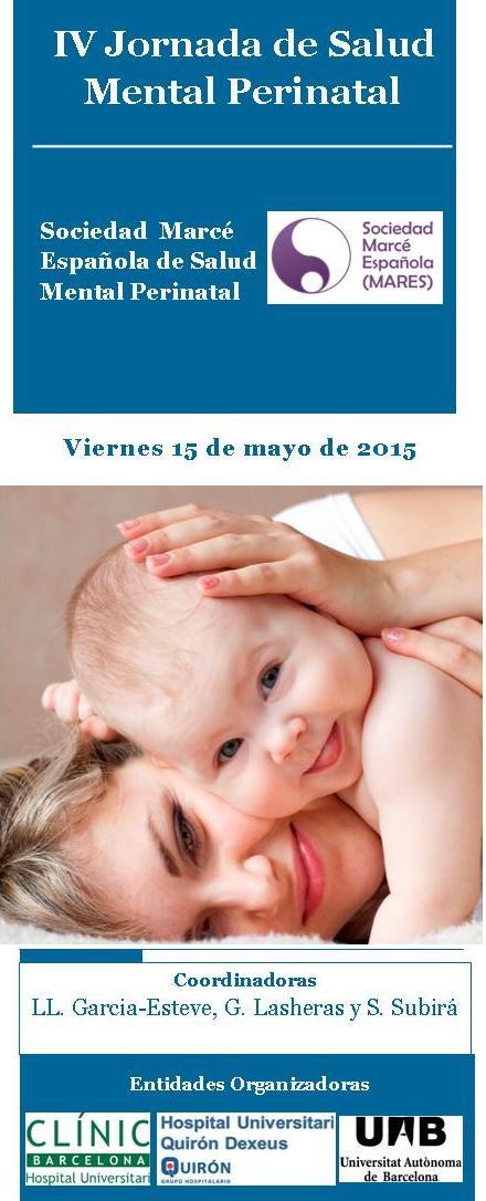 IV Jornada de de Salud Mental Perinatal