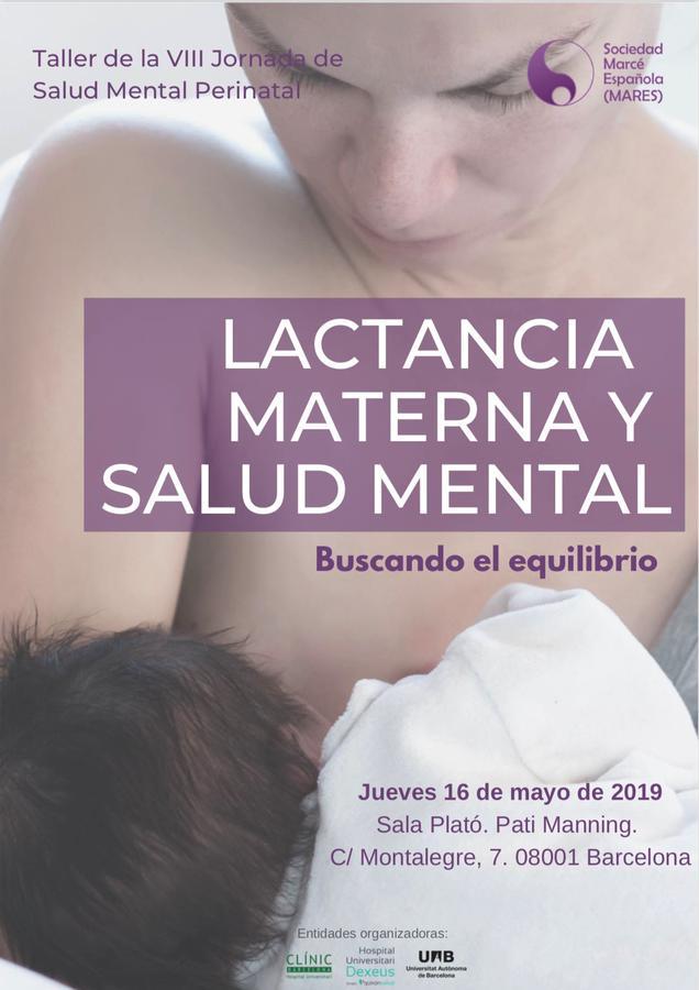 Taller Lactancia materna y salud mental. Buscando el equilibrio