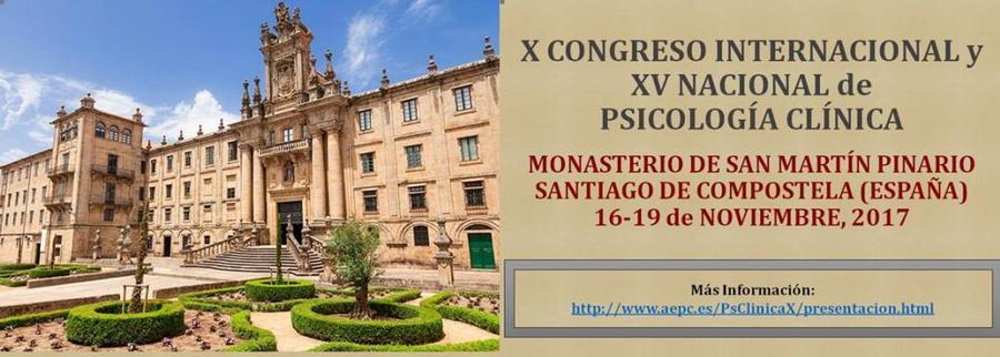 X Congreso Internacional y XV Nacional de Psicología Clínica